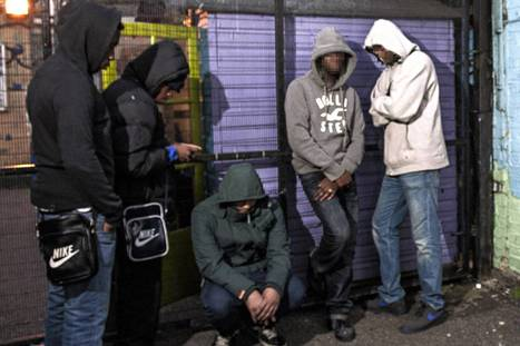 Frontline London: These young gangsters have lost so many friends they've ... | Teens And Poverty | Scoop.it