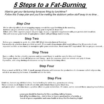 Burn Fat - The Best Way ~ Health and Fitness | Health and Fitness | Scoop.it