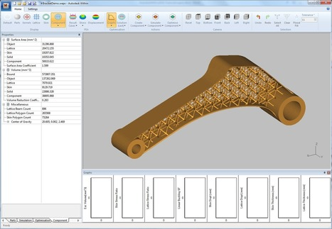 Autodesk Launches New Generative Design Tool for Optimizing Additive Manufacturing | Digital Design and Manufacturing | Scoop.it