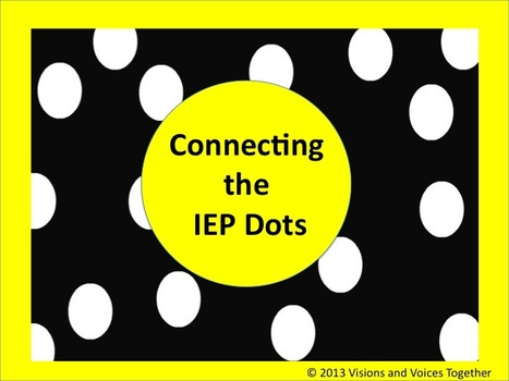 Connecting the IEP Dots | Beyond Special Education | Scoop.it