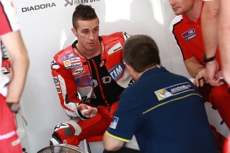 Front tyre focus for factory stars in Michelin test | Ductalk Ducati News | Scoop.it
