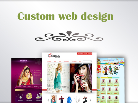 I can design creative, professional and user friendly web page PSD for £87 | Web Design and Online Store Setup | Scoop.it