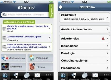 #iDoctus, aplicación de ayuda diagnóstica para médicos y farmacéuticos | eSalud Social Media | Scoop.it