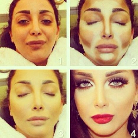 Amazing Make-Up Transformations - You Won't Even Recognize Her | Aspect 2-Make-up | Scoop.it