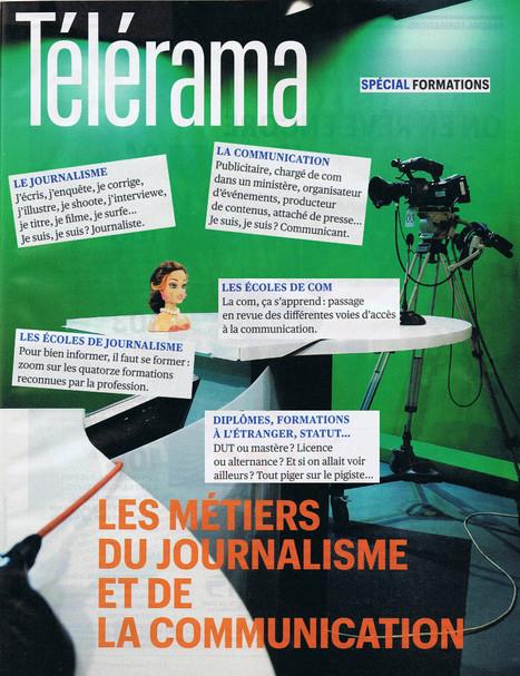 Les métiers du journalisme et de la communication | DocPresseESJ | Scoop.it