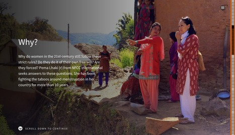 Banished: Why menstruation can mean exile | Interactive & Immersive Journalism | Scoop.it