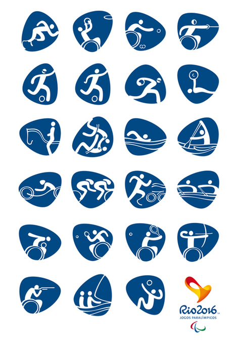 Creative Review - Rio 2016 Olympic pictograms unveiled | Digital boards | Scoop.it