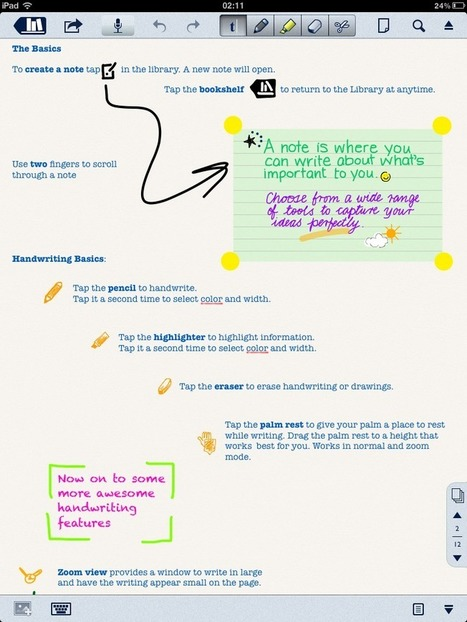 5 Best Notebook iPad apps for students | Continuing Professional Development - CCMS | Scoop.it