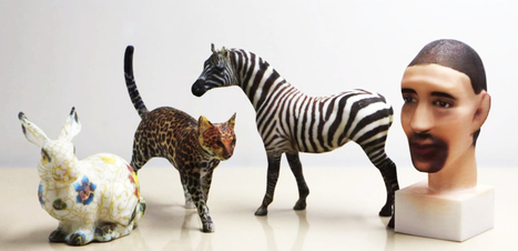 A Crazy Way to Add Intricate Color to 3-D Printed Creations | 3d printers and 3d scanners | Scoop.it