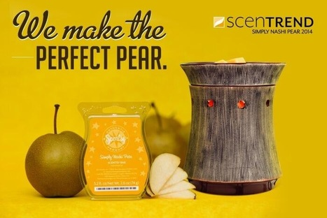 Scentsy Scentrend 2014 - Simply Nashi Pear | Scentsy Candles Online | Scoop.it