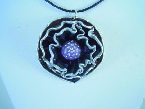 collier forme coeur capsules de Nespresso  : Collier par bijbox | bij - box ( bijoux à partir de capsules nespresso) | Scoop.it