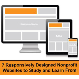 Seven Responsively Designed Nonprofit Websites to Study and ... | Non-profit Donations | Scoop.it