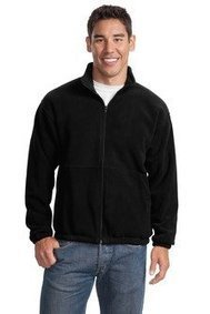 -1-   Port Authority R Tek Fleece Full Zip Jacket. JP77 [Apparel] Port Authority Black   Discount Jackets Coats for Men   Scoop.it