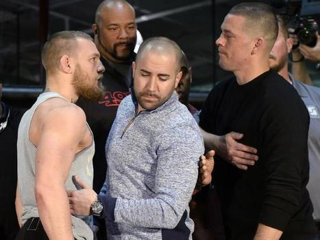 Diaz Vs McGregor : Conor McGregor steroid slur from Nate Diaz coach ahead of UFC 196 grudge match - Diaz Vs McGregor | IdeaOur.com | Scoop.it