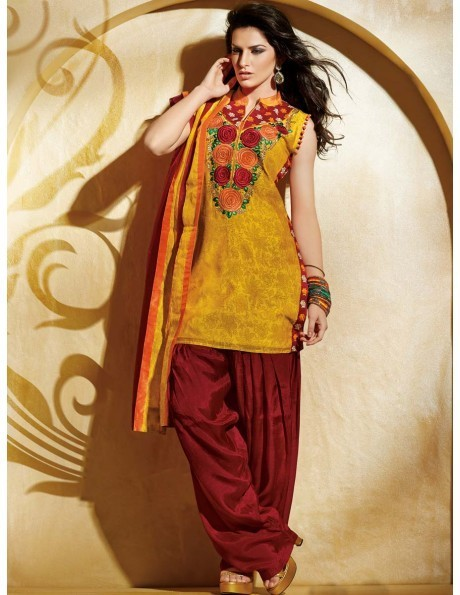 Patiala Suits Get Trendier With Varying Designs and Colors | bharatplaza fashion gallery | Scoop.it