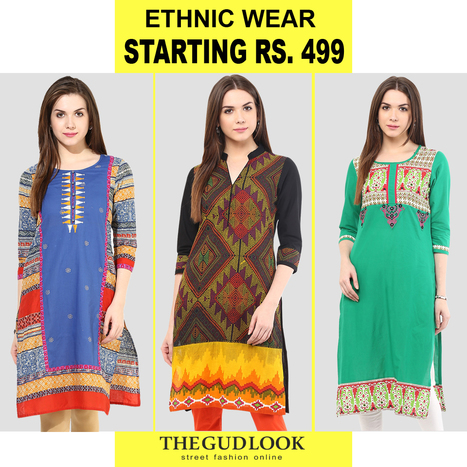 Ethnic Wear Starting Rs. 499 @ thegudlook.com | Street Fashion is what thegudlook.com promises to bring to you Online every day week after week. | Scoop.it