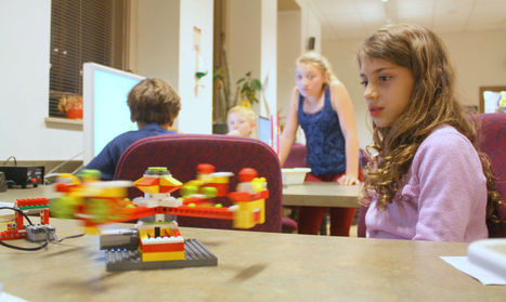 High-tech assistance builds interest in Lego - Daily Astorian   Tinkering and Innovating in Education   Scoop.it