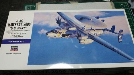 Hasegawa 1/72 E-2C Hawkeye Build - Work in Progress - Aircraft | Francois' Scale Modeling Gazette | Scoop.it