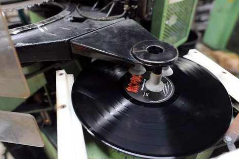 Comment une pme de Mayenne nourrit la folie des Américains pour les disques vinyle | Startups universe | Scoop.it
