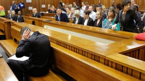 Oscar Pistorius Covers His Ears During Shooting Testimony - ABC News | Oscar Pistorious Trial | Scoop.it