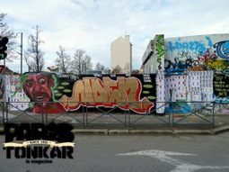 Mur à Rennes avec Joen, Avery et Tarek • mars 2013
