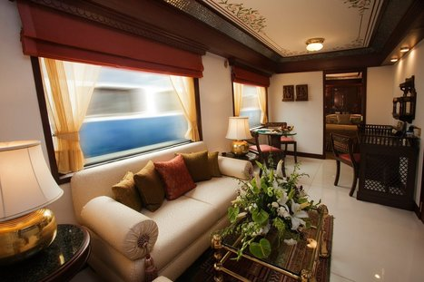 Maharajas' Express crowned with the title of 'World's Leading Luxury Train'   Royal Train Journeys   Maharajas' Express   Scoop.it