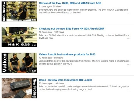 NEW REVIEWS from Team Blacksheep762 - Videos on YouTube | Thumpy's 3D House of Airsoft™ @ Scoop.it | Scoop.it