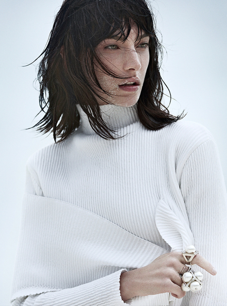 [editorial] Jacquelyn Jablonski shot by Emma Tempest for Vogue Russia | June 2014 | Fashion & more... | Scoop.it