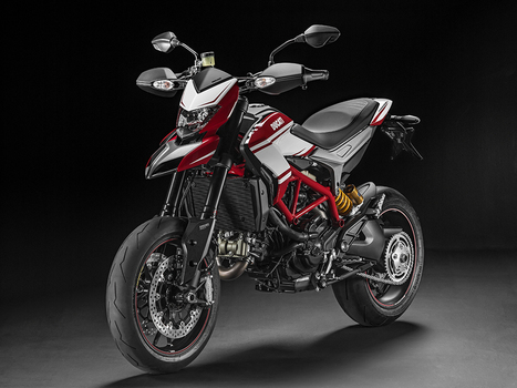 Special preview of new Hypermotard SP colour scheme at WDW2014 | Motorcycle Industry News | Scoop.it