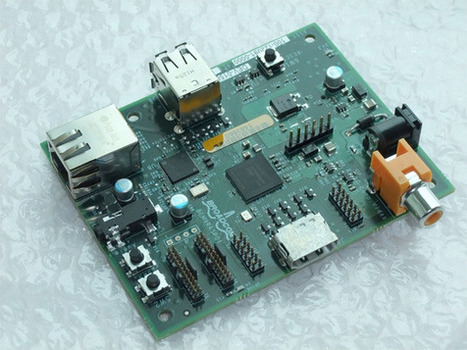 Raspberry Pi Linux micro machine enters mass production • reghardware | Raspberry Pi | Scoop.it