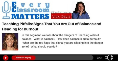 Teaching Pitfalls: Signs That You Are Out of Balance & Burning Out | Durff | Scoop.it
