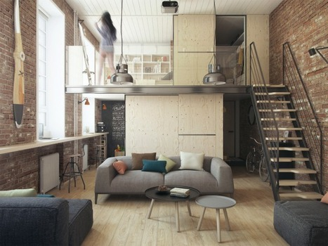 Grand Designs Through Small Apartment Ideas | Adorable Home - Inspirational Home Design and Decorating Ideas | Scoop.it