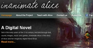 Inanimate Alice enaging transmedia story, Worth a Wow - When Tech Met Ed | Pervasive Entertainment Times | Scoop.it