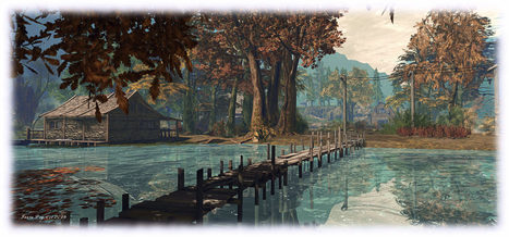 Autumn walks all start with a smile in Second Life | webquests | Scoop.it