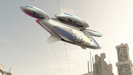 Les projets Vahana et CityAirbus ou quand les voitures voleront | Ressources pour la Technologie au College | Scoop.it