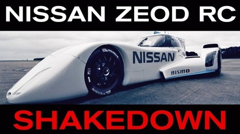 Video: Nissan ZEOD RC Electric Race Car Officially Debuts - Gas 2 | Heron | Scoop.it