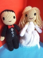 1500 Free Amigurumi Patterns: Wedding Dolls: Free Amigurumi ... | Fiber Arts | Scoop.it