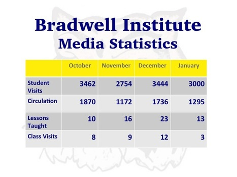 Media Statistics | Bradwell Institute Media | Scoop.it
