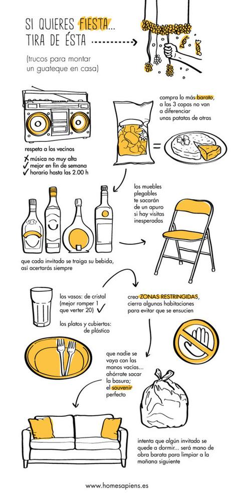 Tips para organizar una buena fiesta en casa | SocialMedia | Scoop.it