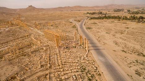 Palmyre dévastée, photographiée par un drone | Le Monde | Kiosque du monde : Asie | Scoop.it