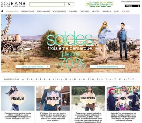 Sojeans lève 7 millions d'euros pour vendre ses denims en Europe | E-commerce - M-commerce - surpermarket online | Scoop.it