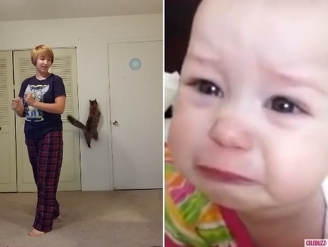 Watch: This Cat and Baby Would Like Renditions of 'Frozen' Songs to Stop Forever - Celebuzz | Disney Frozen Clothes | Scoop.it