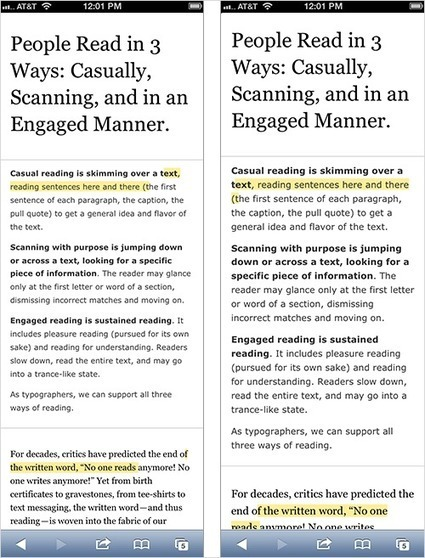 Size Matters: Balancing Line Length And Font Size In Responsive Web Design - Smashing Magazine | Web and Graphic Design | Scoop.it