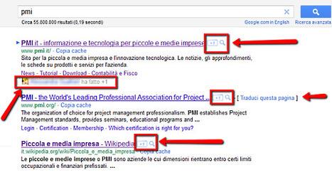 Pulsante Google +1: la guida - PMI.it | About Google+ | Scoop.it