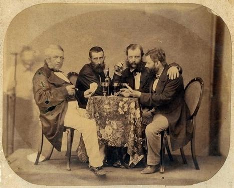 Les quatre personnages de cette vieille photographie m'intriguent ! Qui sont-ils ? - www.histoire-genealogie.com | GenealoNet | Scoop.it