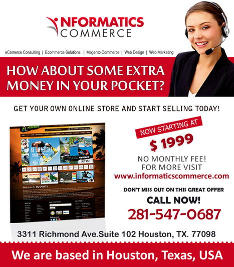 In Houston, Web Design Consulting Services Bring Optimistic Results into Your Trade | Informatics Commerce | Scoop.it