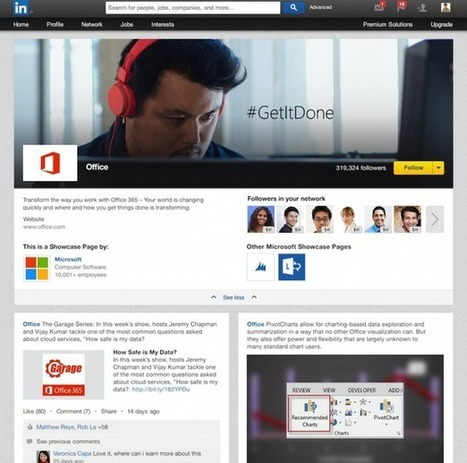 LinkedIn's New Showcase Pages Give Businesses More Options - | Social Media Madness | Scoop.it