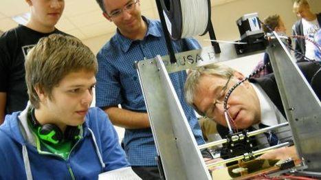 Schulen entdecken dreidimensionale Drucktechnik Offenes Technologielabor Otelo bietet Workshops an   Nachrichten.at   OTELO in der Presse   Scoop.it
