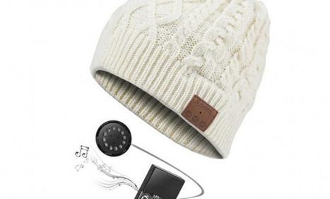 Archos Music Beany : bonnet connecté pour écouter de la musique au chaud   Objets Connectés & Marketing Connecté   Scoop.it