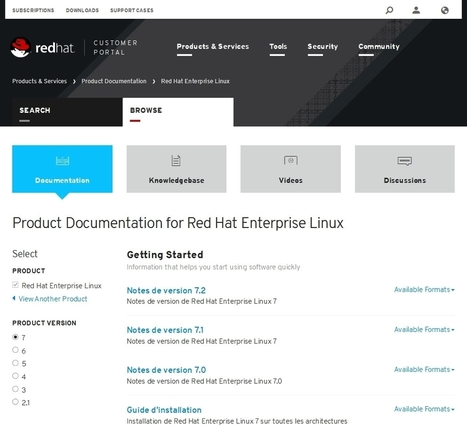 Documentation CentOS 7 : c'est Red Hat et Oracle qui en parle le mieux ! | Informatique | Scoop.it